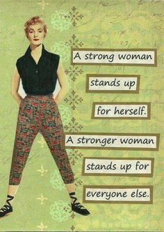 Stand up for everyone else