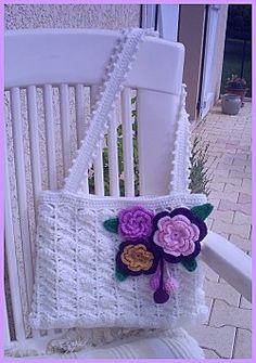 Crochet bag #1 with diagram