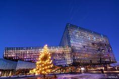Harpa opera, Reykjavik, Iceland. Such a beautiful building.