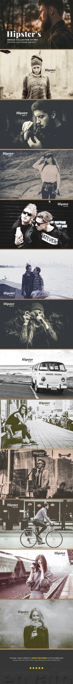 Hipster's Lightroom Presets
