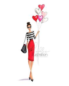 Close to HeART Print by HNIllustration on Etsy