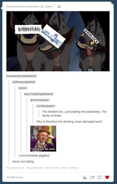 "Tumblr Explains Why ""Sherlock"" Needs To Come Back On The Air Right Now- bahahahahah!"