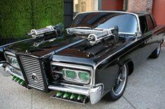 Black Beauty. The Green Hornet's very sweet ride.