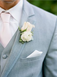 Grooms suit kind of like the gray.