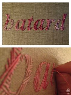 embrodery batard