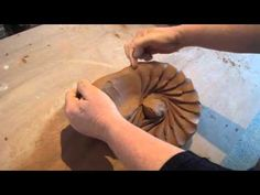 38. Learning Spiral Wedging / Kneading Clay 菊練り with Hsin-Chuen Lin - YouTube