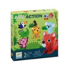 Djeco Little Action Challenge Game for Little Ones - Trouva Little Games, Games For Kids, Kids Packaging, Challenge Games, Table Games, Jouer, Toy Boxes, Diy On A Budget, Board Games