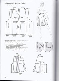 Pattern Drafting Tutorials, Sewing Tutorials, Diy Clothing, Sewing Clothes, Dress Sewing Patterns, Clothing Patterns, Fashion Sewing, Diy Fashion, Pants Pattern
