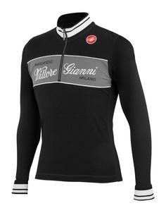 Castelli Vittore Gianni Wool Cycling Jersey, Cycling Jerseys, ProBikeKit United Kingdom