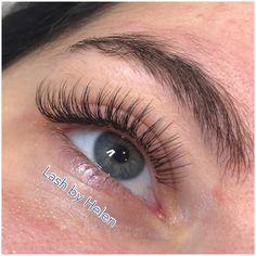 Types Of Eyelash Extensions, Eyelash Extensions Before And After, Eyelash Extensions Aftercare, Makeup Eye Looks, Eye Makeup, Cabelo Ombre Hair, Perfect Eyelashes, Eyelash Tips, Skin Care Spa