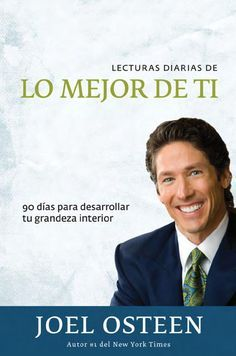 Autoayuda y Superacion Personal Joel Osteen, Books To Read, My Books, Wisdom Books, Night Quotes, Positive Affirmations, Great Books, Self Help, Life Is Good