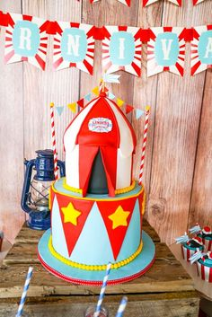 Backyard carnival Christmas/Holiday Party Ideas | Photo 2 of 21