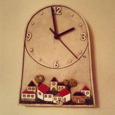 #keramika #ceramics #hodiny #home #homemade Clocks, Pottery, Instagram Posts, Inspiration, Home Decor, Clock, Art, Ceramica
