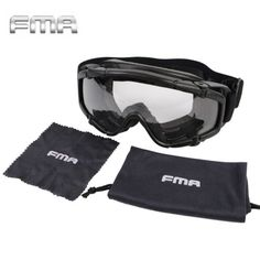 FMA Goggle Glasses  2pcs Lens Hunting Cycling UV Eyewear Glasses Replacement