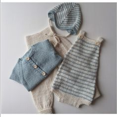Perfect @__perlemor__ Knitted Baby Clothes, Baby Kids Clothes, Baby & Toddler Clothing, Knitting For Kids, Baby Knitting Patterns, Baby Patterns, Pinterest Baby, Diy Bebe, Baby Kind