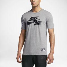 check out 9a6ba 27876 Nike Sportswear Mens Air Logo T-Shirt Size 2XL (Grey) - Clearance Sale
