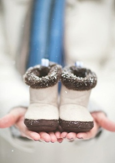 Baby Boots!  So Cute!!