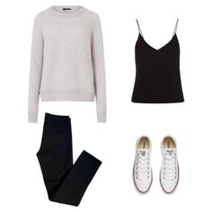 Grey Sweater inspiration outfit