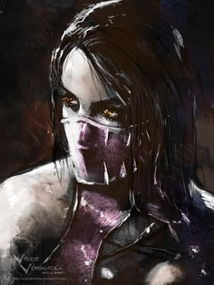 Mileena by Vincent Vernacatola