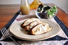 Little B Cooks: Chronicles from a Vermont foodie: Goat Cheese & Apple Stuffed Chicken