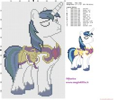 Shining Armor 2 (My little pony) cross stitch pattern