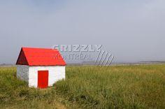 La porte rouge Photo D Art, Shed, Outdoor Structures, House, Ideas, Red Doors, Photo Galleries, Landscape, Photography