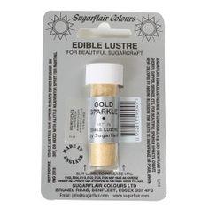 Colorante en polvo Brillo Dorado Sugarflair