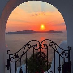 Beautiful sunset! 📷: @principessadelleprincipesse Use @my.santorini to see your photo posted. #travelGreece #greek_islands #traveling #vacation #visiting #instatravel #instago #instagood #trip #holiday #photooftheday #fun #travelling #tourism #tourist #instapassport #instatraveling #mytravelgram #travelgram #travelingram #igtravel #magic #island #aegean