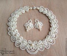 Necklaces wedding Vasilisa di WeddingJewelryR su Etsy
