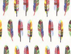 Macaw fabric - Nancy Straughan