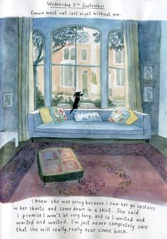 PLUMDOG BLOG   One of my favourite contemporary illustrators.  Beautiful writing and pictures! http://emmachichesterclark.blogspot.co.uk/