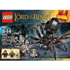 GAVINS WISH LIST LEGO Lord of the Rings Shelob Attacks Play Set