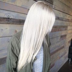 Icy Blonde perfect for Winter