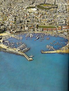 This is my Greece | Mikrolimano Marina in Piraeus (Late 1960s - Early 1970s)