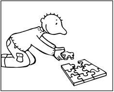 Tekening jules puzzel