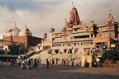 Mathura is the birthplace of the lord Krishna and it is believed that the Krishna took birth on the soil of this sacred city.