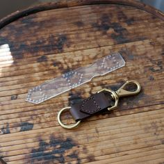 The leather keychain template is perfect for a small project with highly usable results. Makes a great beginner project or a quick addition to your product catalog. Similar finished keychains often se