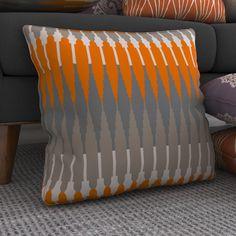 Found it at AllModern - Gleaton Linear Throw Pillow