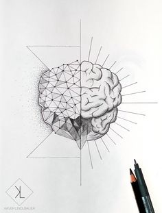 brain tattoo - Google zoeken                                                                                                                                                      More