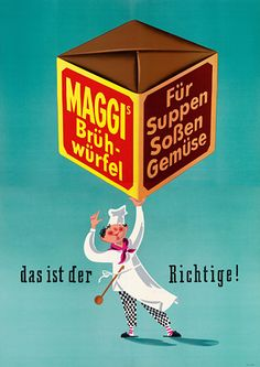 Maggi Vintage Posters Art Prints