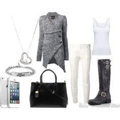 DAY 1 Shoes: Jimmy Choo  Cardigan: Vivienne Westwood  Trousers: Saint Laurent  Bracelet: Forever 21  Bag: Ralph Lauren  Necklace: Roberto Coin