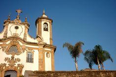 Igreja Nossa Senhora do Carmo, Ouro Preto, Minas Gerais.