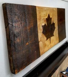 3D Distressed Canadian Flag Canada flag maple leaf rustic