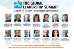 The Global Leadership Summit Day 1 Recap (New Blog Post) >> http://dougsmithlive.com/willow-creek-global-leadership-summit-day-1-recap-2/