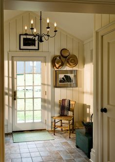 Feeling for breezeway / entry -- walls. This is called novelty siding, it is common in farmhouses.