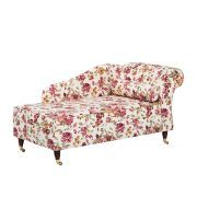 Recamiere Colmar - Stoff Blume Beige - Armlehne rechts Textiles, Lounge, Couches, Furniture, Home Decor, Products, Chair, Home, Comfy Bed
