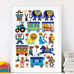 Circus Poster - ByGraziela