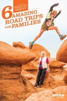 With five national parks, Utah has everything you need to make long-lasting family memories this season. Find your #RoadToMighty with one of our suggested itineraries, or build your own perfect adventure!