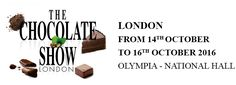 Chocolate Show London 14-16th October 2016 @ Olympia, London.