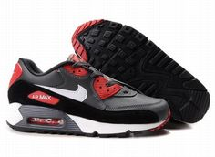 https://www.kengriffeyshoes.com/nike-air-max-90-grey-red-black-white-p-634.html Only$71.55 #NIKE AIR MAX 90 GREY RED BLACK WHITE #Free #Shipping!